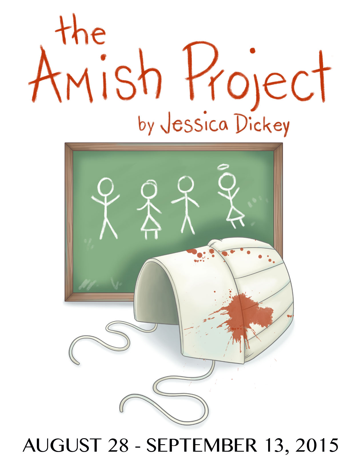 Amish Project Postcard