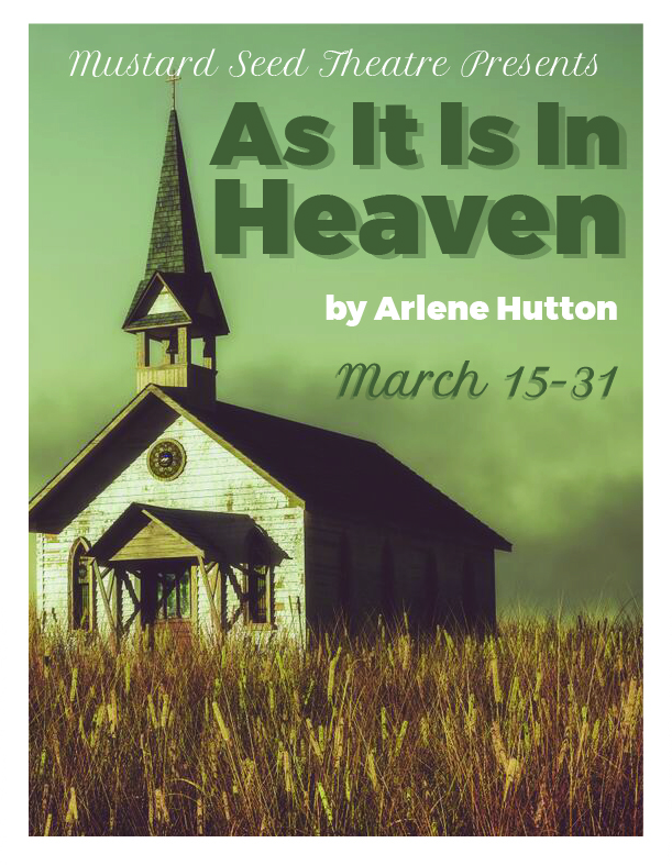 As It Is In Heaven Flyer