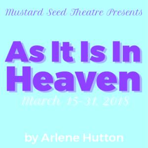 As It Is In Heaven initial web